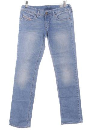 Diesel Industry Straight-Leg Jeans mehrfarbig Washed-Optik