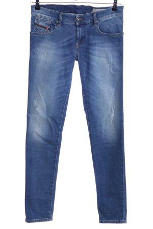 Diesel Industry Jeans stretch bleu style décontracté