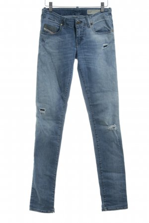 Diesel Industry Stretch Jeans himmelblau Casual-Look