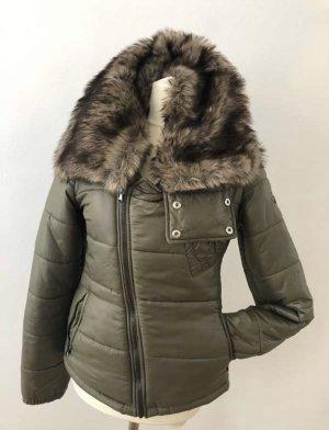 Diesel Jacke mit abnehmbarer Kragen