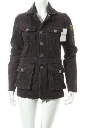 Diesel Jacke schwarz klassischer Stil
