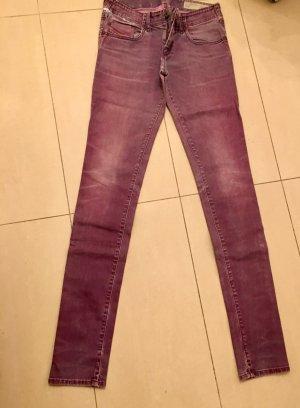 Diesel Industry Stretch Jeans grey violet