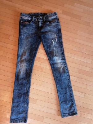 Diesel Jeans vita bassa multicolore