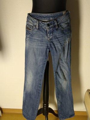 Diesel Jeans a sigaretta blu