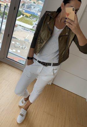 Diesel Baggy Jeans white