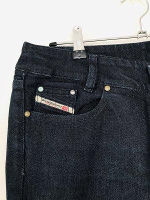 Diesel Industry Boot Cut Jeans dark blue