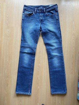Diesel Jeansy ze stretchu niebieski