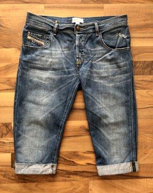 Diesel Jeans a 3/4 blu fiordaliso