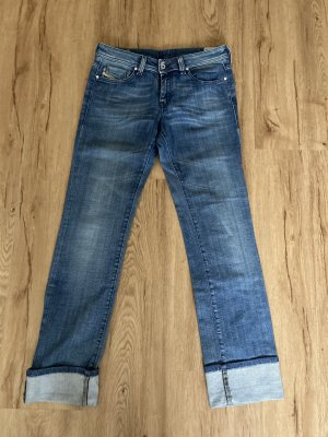 Diesel Industry Straight Leg Jeans blue