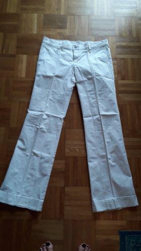 Diesel Denim Flares white cotton