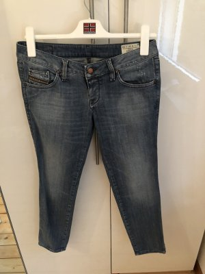 Diesel Pantalón boyfriend azul aciano