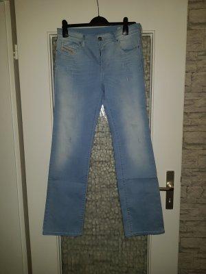 Diesel Jeansy z prostymi nogawkami jasnoniebieski