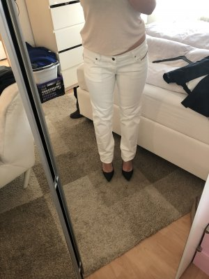 Diesel Low Rise jeans wit