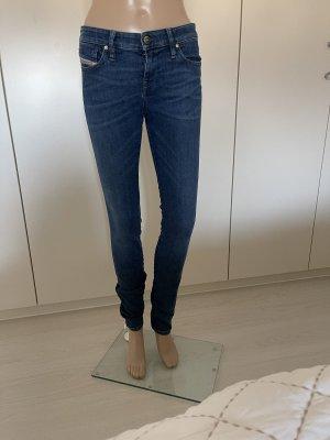 Diesel Jeans slim fit blu acciaio