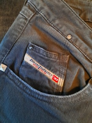Diesel Stretch jeans grijs-antraciet