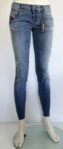 Diesel Jeans Grupee Ankle-C Gr. 27/34 blau Logo