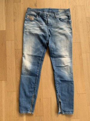 Diesel Jeans Grupee - Zip W30 L34 hell blau Damen