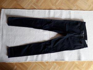 Diesel Industry Hoge taille jeans zwart-antraciet