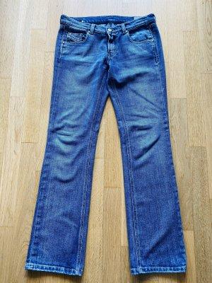 Diesel Boot Cut Jeans steel blue