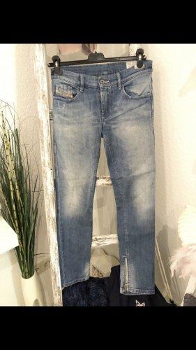 Diesel Jeans Hose hellblau w 26 L 32 Gr. xs