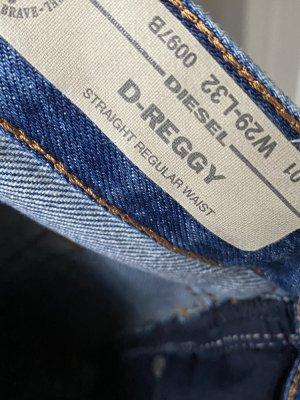 Diesel 7/8-jeans veelkleurig Katoen