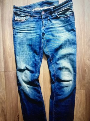 Diesel Industry Skinny Jeans multicolored denim