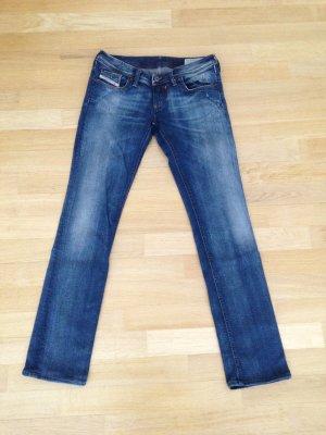 Diesel Jeans vita bassa blu