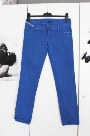Diesel Jeans Marineblau Used W 30 38 Royalblau