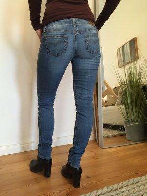 Diesel Industry Slim Jeans steel blue cotton