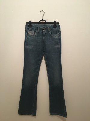 Diesel Jeans svasati blu acciaio-azzurro