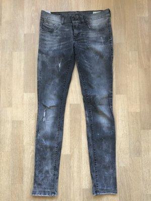 Diesel Industry Slim Jeans grey-light grey cotton