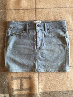 Diesel Jeans Rock Gr. 28 blau