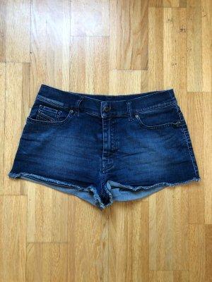 Diesel Jeans Shorts 27 dunkel blau