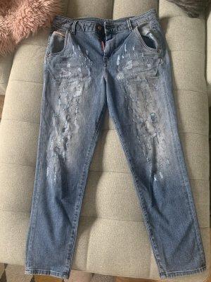 Diesel Industry Jeans boyfriend multicolore