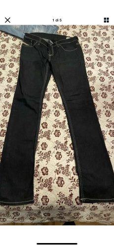 Diesel Black Gold Pantalón de tubo negro