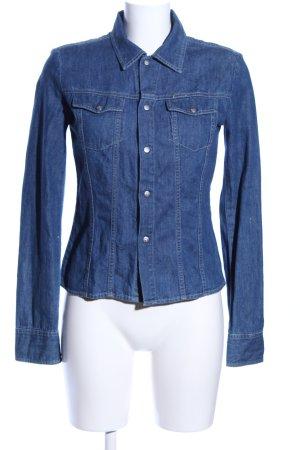 Diesel Jeansjacke blau Casual-Look