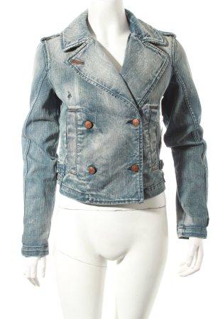 Diesel Jeansjacke blau schlichter Stil