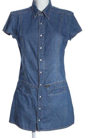 Diesel Jeansowa sukienka niebieski W stylu casual