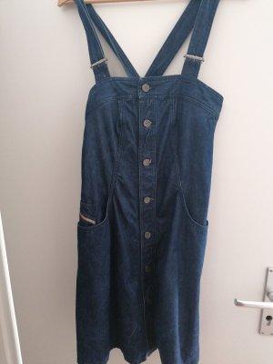 Diesel Jeansowa sukienka ciemnoniebieski