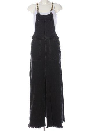 Diesel Jeansjurk zwart casual uitstraling