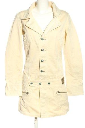 Diesel Robe en jean blanc cassé style décontracté