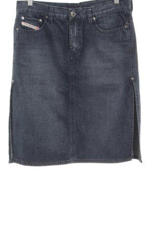 Diesel Jeansrock blau schlichter Stil