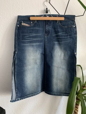 Diesel Denim Skirt steel blue