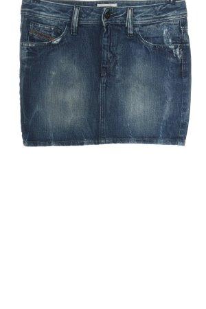 Diesel Jeansrock blau Casual-Look