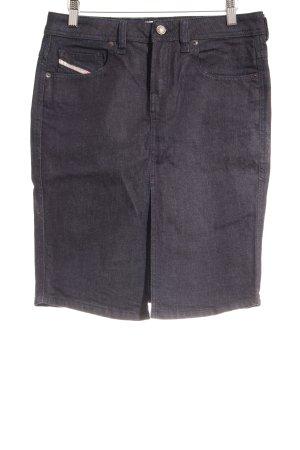 Diesel Jeansrock dunkelblau Street-Fashion-Look