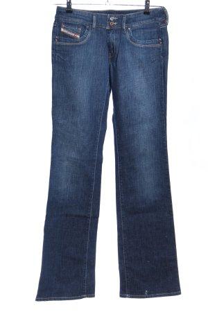Diesel Jeansschlaghose blau Casual-Look