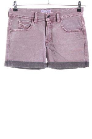 Diesel Jeansshorts pink Casual-Look