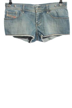 Diesel Short en jean bleu style décontracté