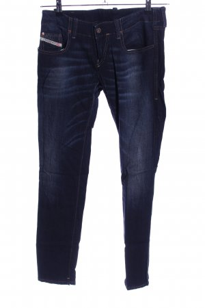 Diesel Jeggings blau Casual-Look