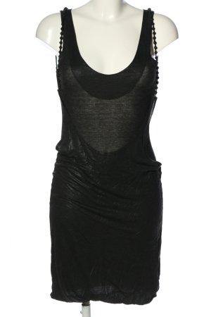 Diesel Jerseykleid schwarz Casual-Look